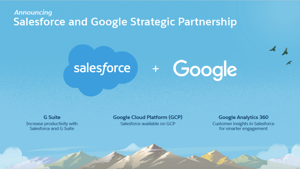 Salesforce and Google Partnership