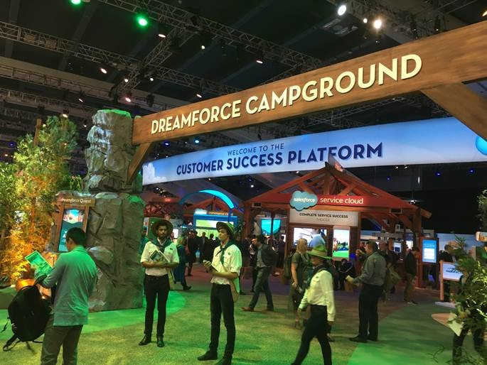 Dreamforce Campground
