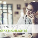 Top five highlights for Salesforce Spring '18 release