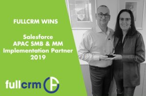FullCRM Win Salesforce APAC Implementation Partner for SMB & MM 2019