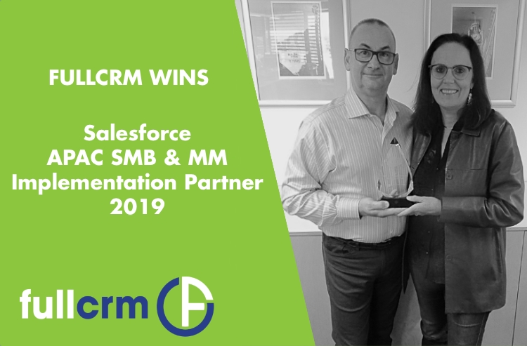FullCRM Win Salesforce APAC Implementation Partner for SMB & MM 2019