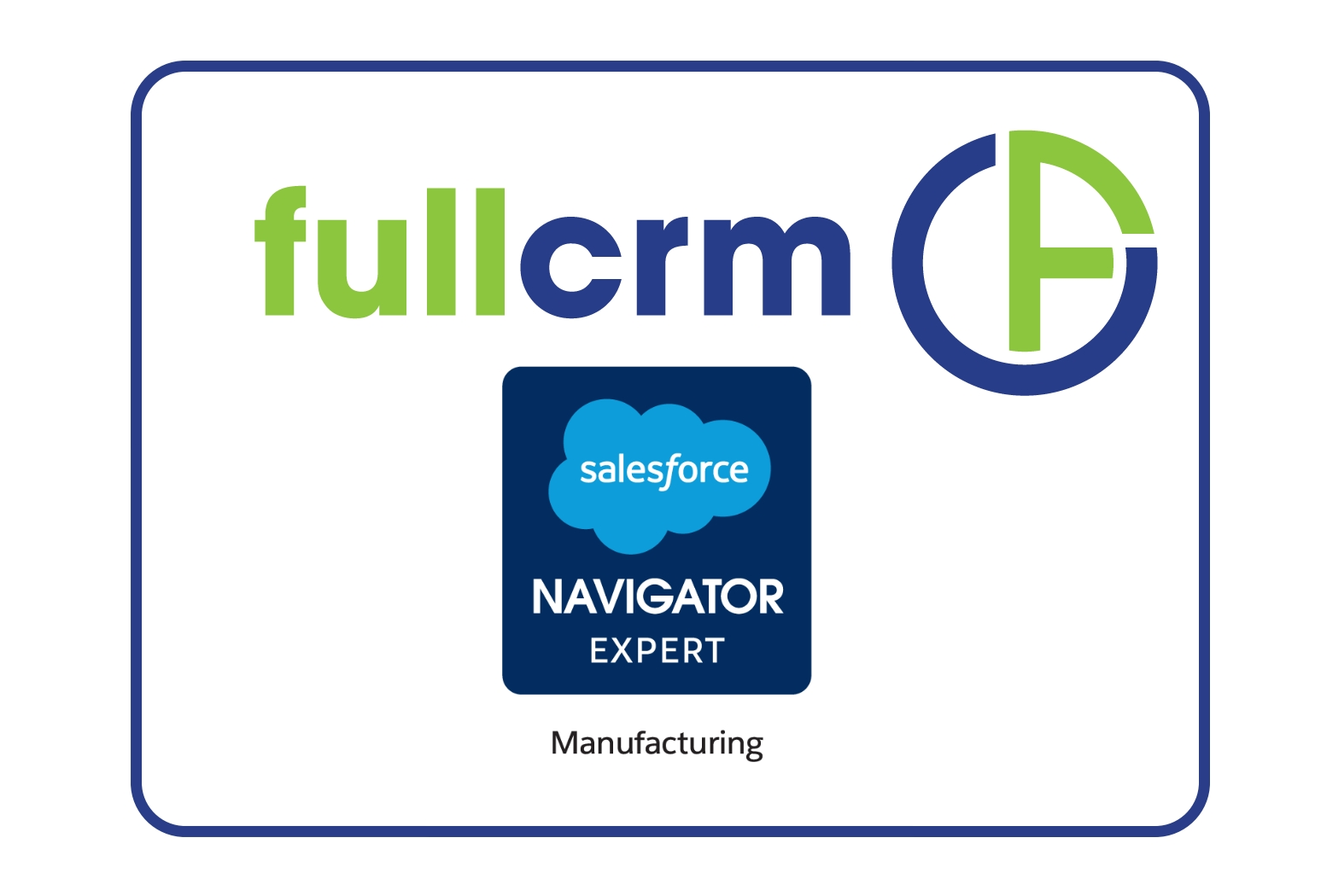 FullCRM Manufacturing Experts Salesforce