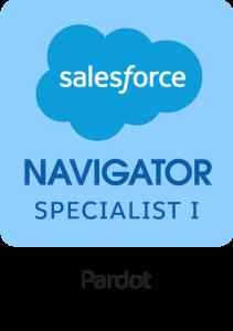 Salesforce Navigator Pardot Specialist