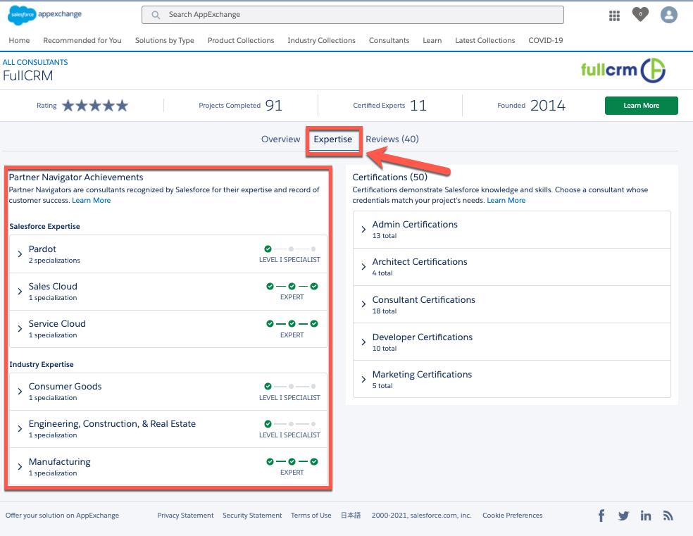 How to Find Salesforce Partner Navigator Expertise